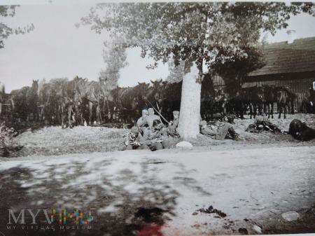 posiłek pod drzewem 1939