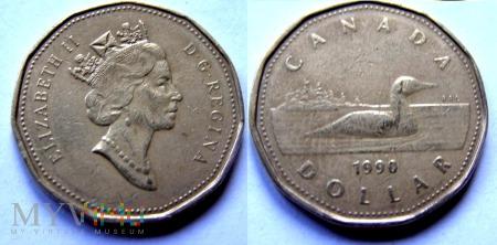 Kanada, 1 dolar 1990