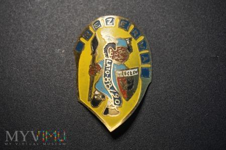 pamiątkowa odznaka REZERWA 88 - 90 Wrocław