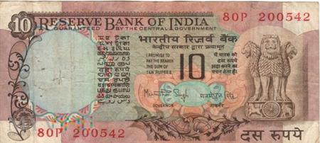 INDIE 10 RUPII 1984