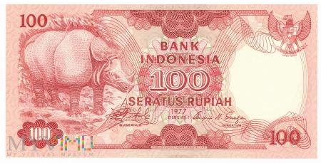 Indonezja - 100 rupii (1977)
