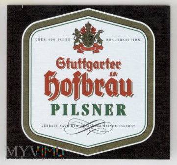 Stuttgarter Hofbräu Pilsner