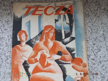 Duże zdjęcie Czasopismo ilustrowane Tęcza - 1928r. Zeszyt 49.