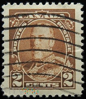 Kanada 2c Jerzy V