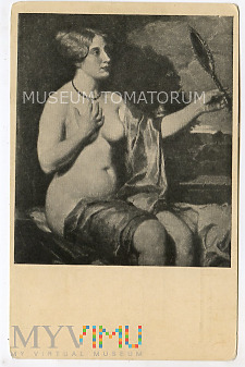 Duże zdjęcie Tilbergs - Kobieta z lustrem - Akt