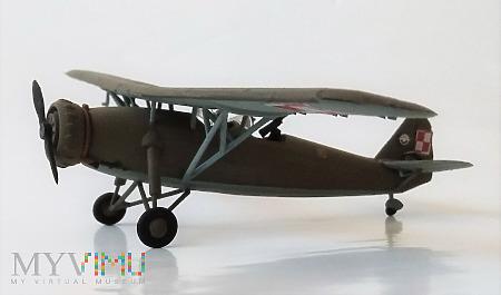 """Duże zdjęcie Samolot towarzyszący RWD-14 """"Czapla"""" (model 1/72)"""
