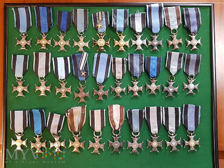 Virtuti Militari - część mojej kolekcji