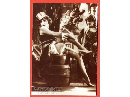 Marlene Dietrich Błękitny Anioł GAVEL 1930
