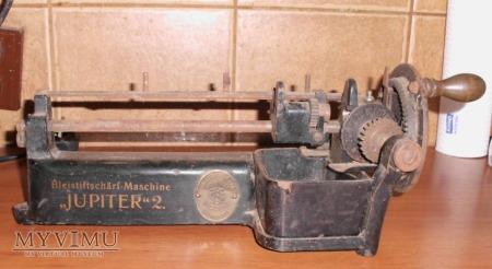 Mechaniczna ostrzałka do ołówków.