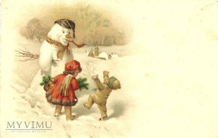 Boże Narodzenie - bałwan