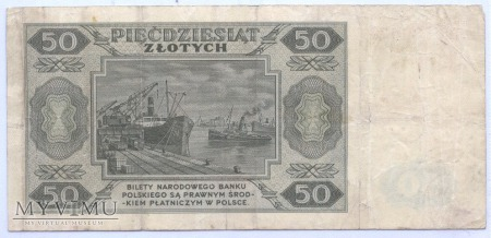 50 złotych - 1948.