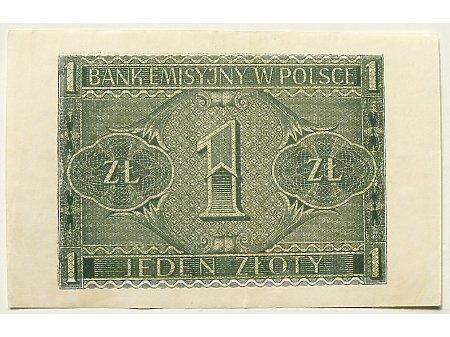 Polska- 1 zł 1941 r