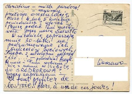 Podróż po Warszawie z Wiechowską Ferajną 1965 7