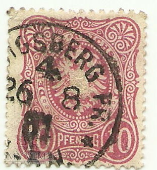 10 pfennig Królewiec 1881 r.