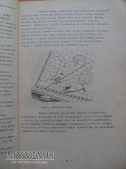 Prowadzenie map roboczych-1971r.