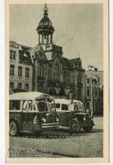 Wejherowo 1951- Rynek Ratusz autobusy