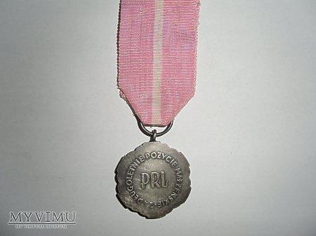 Duże zdjęcie Medal za dlugoletnie pożycie malżeńskie