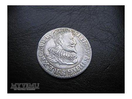 Szóstak koronny Zygmunta III-ego Wazy z 1596