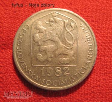50 HALERZY - Czechosłowacja (1982)