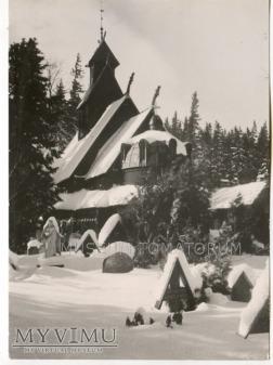 Karkonosze - Bierutowice, Świątynia Wang - ok.1962