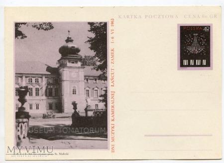 Łańcut - Zamek - 1963