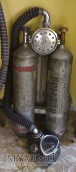 Aparat powietrzny dwubutlowy typ AP-3