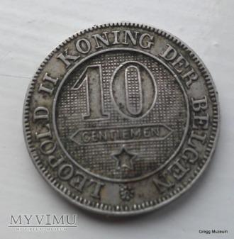 10 CENTIMES 1895 BELGIA