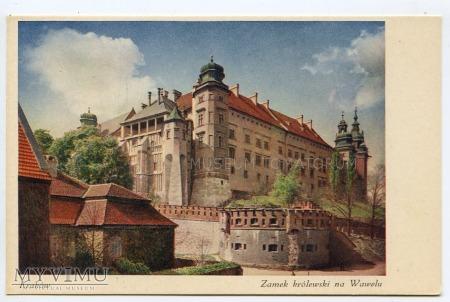 Duże zdjęcie Kraków - Wawel od północy- lata 30-te