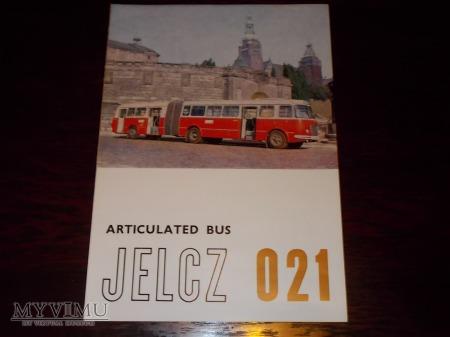 Duże zdjęcie Prospekt Jelcz 021 Articulated Bus