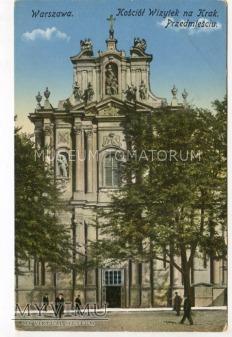 W-wa - Kościół Wizytek - 1920-te