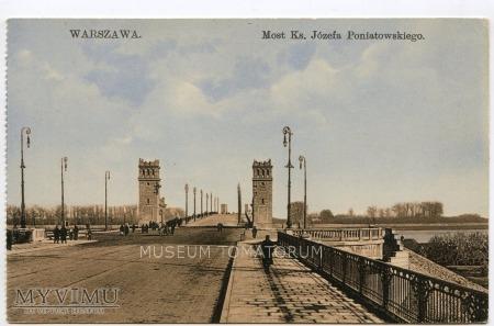 W-wa - III Most - Poniatowskiego - 1910-te