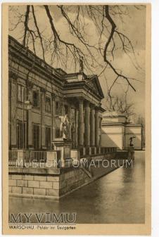 Warszawa - Łazienki - Pałac od tyłu - 1930-1940