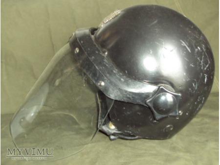 Kask MO wz. 83 z przyłbicą - czarny