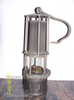 LAMPA GÓRNICZA BENZYNOWA - typ 400g - 1958