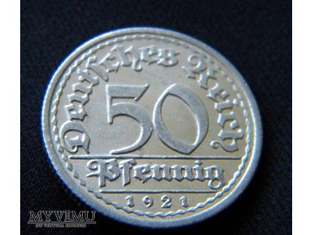 Duże zdjęcie 50 Pfennig 1921