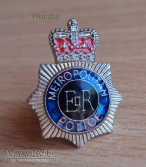 Brytyjska odznaka: METROPOLITAN POLICE