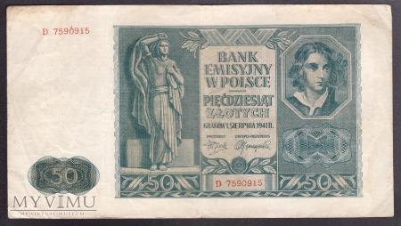 50 zł 1941r.