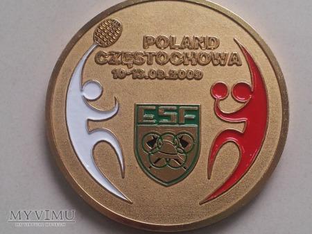 Duże zdjęcie Medal zawodów ESF