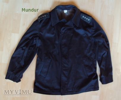 Bluza czołgisty czarna WZ 601/MON RAFIO-2