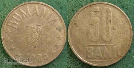 Rumunia, 50 Bani 2005