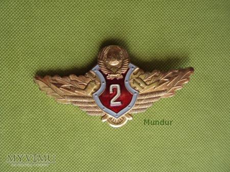 Oznaka specjalisty milicyjnego ZSRR - 2 klasy