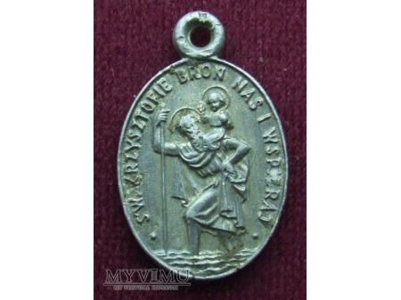 Medalik ze św. Krzysztofem