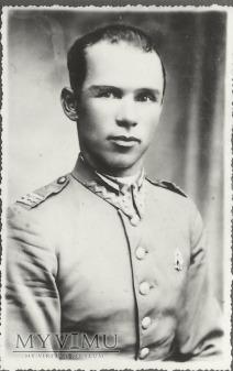 Plutonowy Bronisław Olszewski z 25 Pułku Ułanow W.