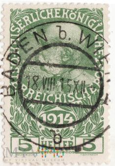 Franciszek Józef I rok1914