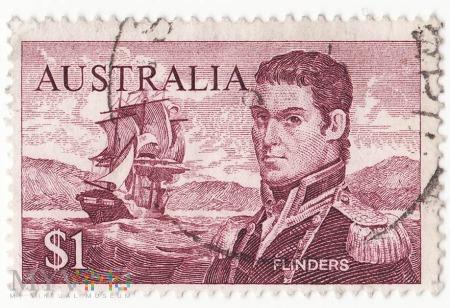 Australia 1966 Flinders 1$