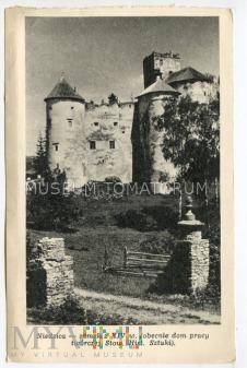 Zamek Dunajec w Niedzicy - lata 50-te