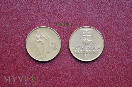 Moneta słowacka: 1 Sk