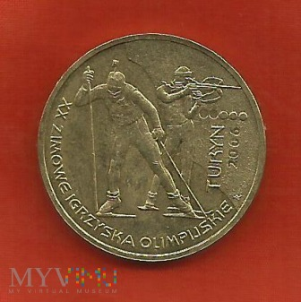 Polska 2 złote, Turyn 2006