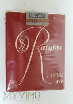 Papierosy RARYTAS 20 szt. 1969 r.