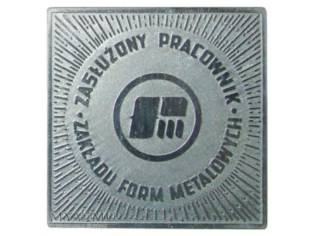 Zakład Form Metalowych medal srebrny